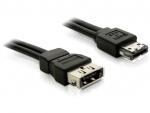 Cablu prelungitor Power Over eSATA (eSATAp) 5V T-M 1m, Delock 84389