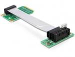 Riser card Mini PCIe la PCI Express x1 right insertion, Delock 41851